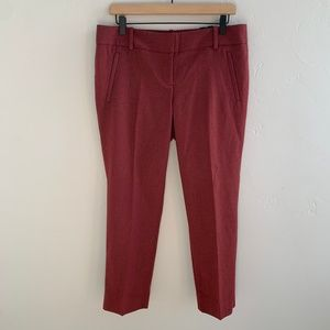 NWT The Limited Maroon Pencil Pant 10
